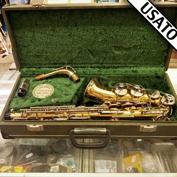 Sax Alto Grassi Usato del 1978 Sassofono contralto Grassi usato con astuccio…