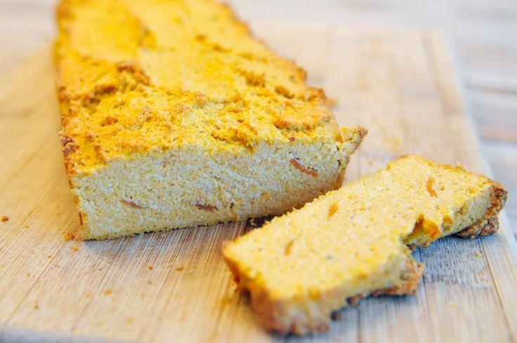Amandelbrood met wortel