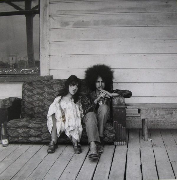Portrait of a young couple, New Zealand, 1981, photograph by Ans Westra.