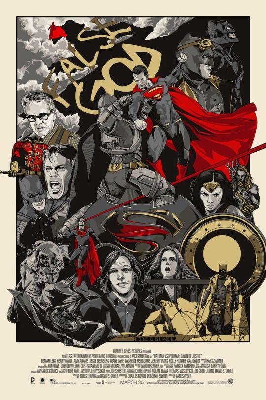 Long Live The Bat - Batman v Superman Dawn of Justice by Jonathan B. Perez
