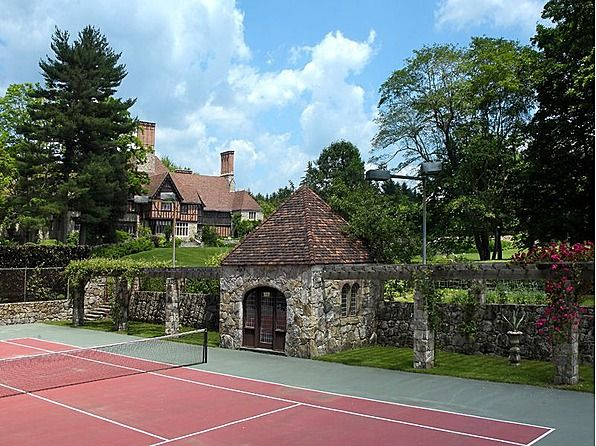 A backyard tennis court (&/or general sports court) just has to happen.