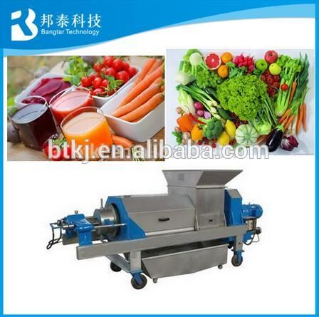 304 stainless steel industrial apple juicer/fruit juice making machine for sale