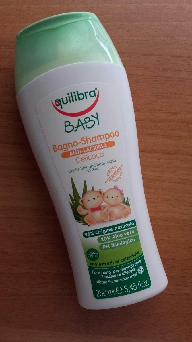 Baby Bagno Shampoo Anti-lacrima Delicato Equilibra contiene ben il 98% di ingredienti di origine naturale. Con Aloe Vera e Calendula. Nichel Tested. PH fisiologico Creato per la pelle delicata dei bimbi, ma perfetto per i grandi. Senza parabeni Senza petrolati Senza allergeni