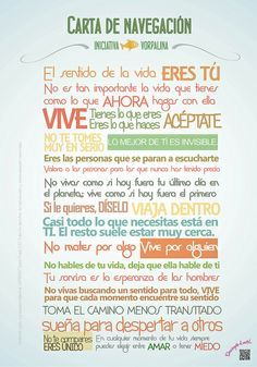 @INICvorpalina | Carta de navegación de Iniciativa Vorpalina #escuelacreativa @ecatolicas @pepe montalva