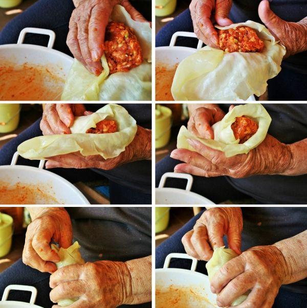 Hungarian stuffed cabbage - töltött káposzta -  recipe and how to prepare it