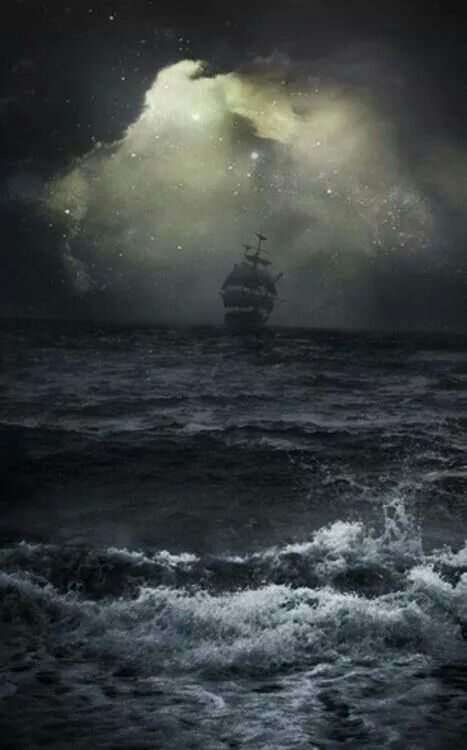 Love that old ship!  I don't think I would fare well on those turbulent waters.