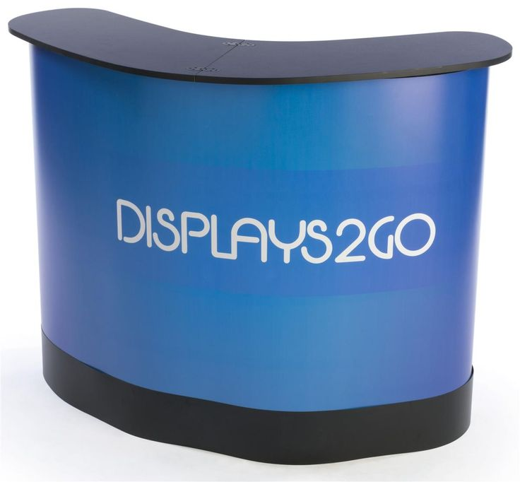 Portable Equipment Case, Converts to Counter, Custom Graphics