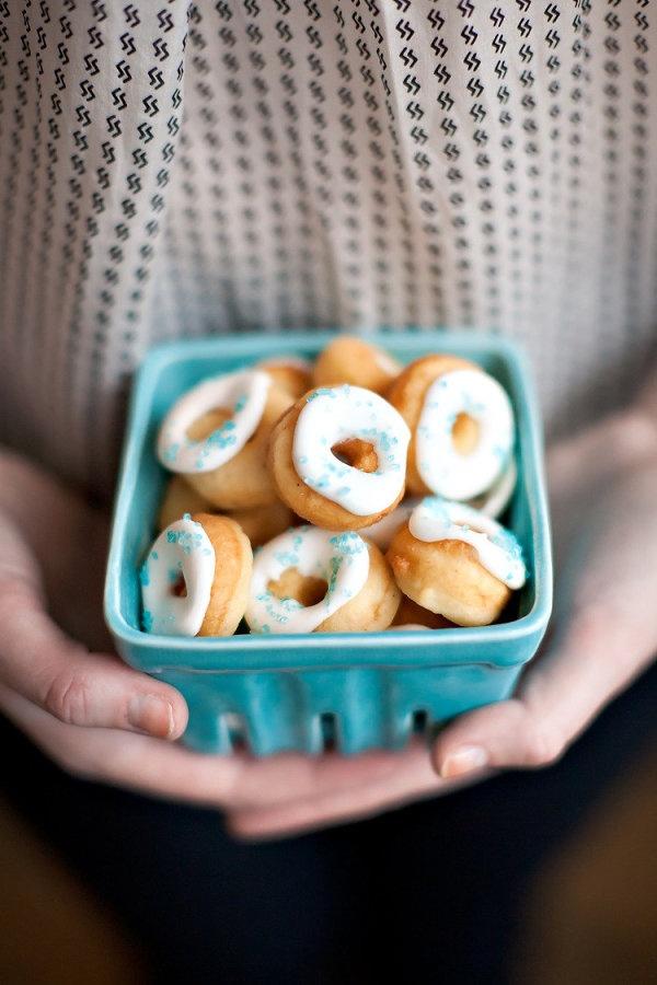 tiny doughnuts