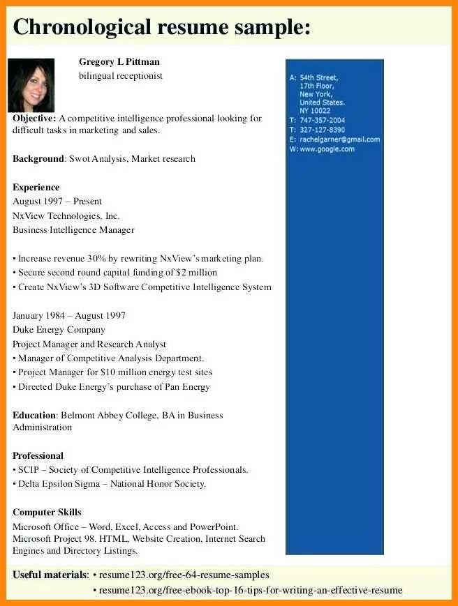 14 15 Bilingual Resume Samples Nhprimarysourcecom Image Result