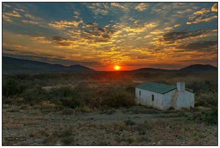 Steytlerville sunset