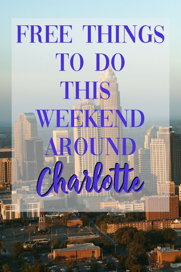 Charlotte On The Cheap >> If You Re Looking For Something Do This Weekend And You Re Near