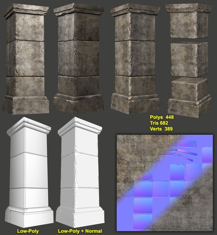 Catacomb Module - Pillar by ~amirabd2130 on deviantART