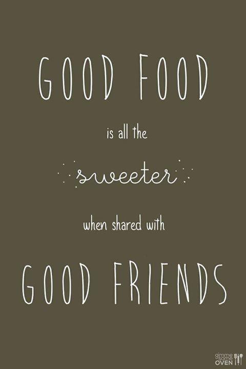 Met wie deel jij je eten graag?
