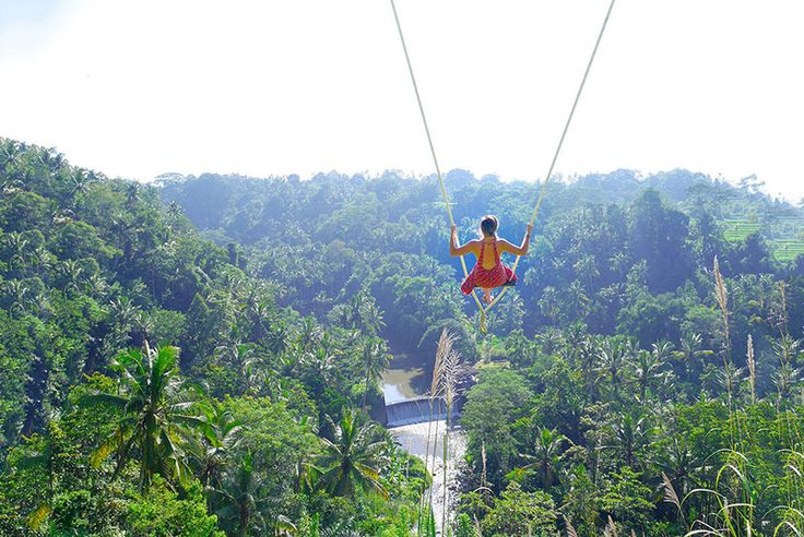 Swing Over A Cliff Visit Lush Ubud S And Discover These