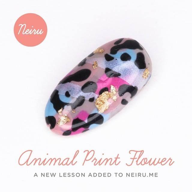 52 best neirus nail art lessons images on pinterest art lessons new lesson added animal print flower nail art lesson neiru prinsesfo Images