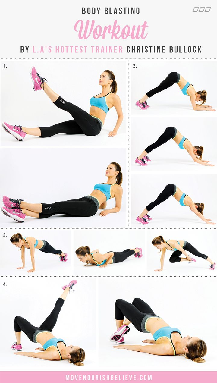 Body Blasting Workout by Christine Bullock