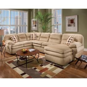 Found It At Wayfair   Shiloh Padded Suede Sectional Sofa
