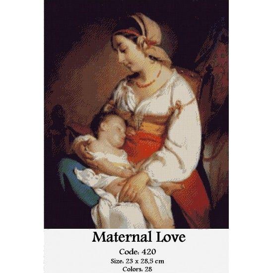Gobelin Tapestry Set Maternal Love http://gobelins-tapestry.com/portraits/867-maternal-love.html