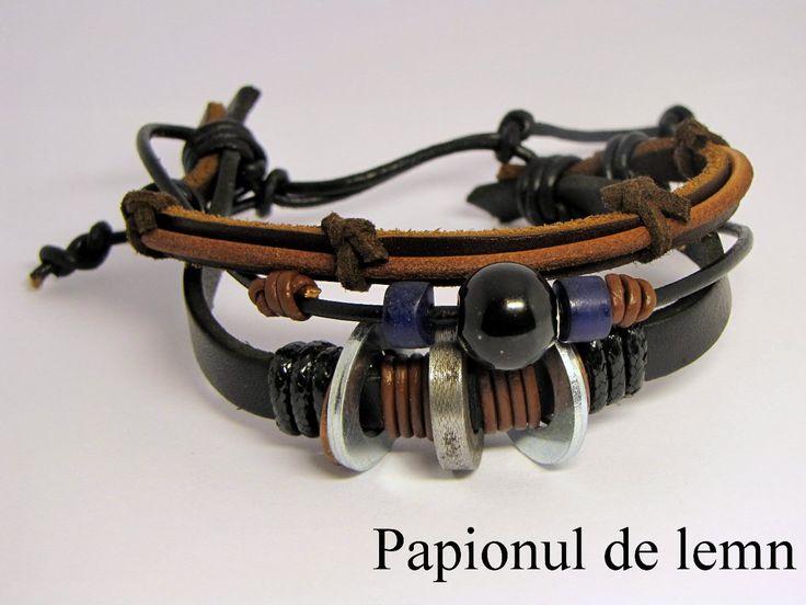 Handmade Bravelet Charm 2 :: Papionul de lemn