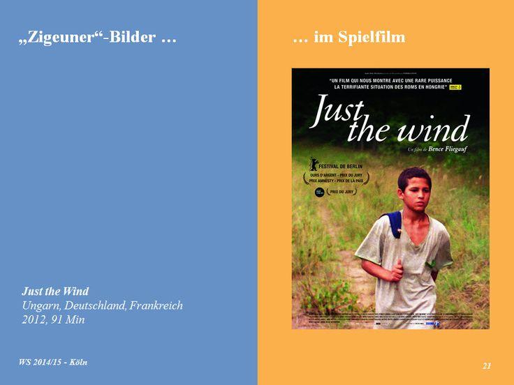 """Einen sehenswerten und wichtigen Film in unseren """"'Zigeuner'-Bilder-Vortrag eingearbeitet ... nicht dass es heißt, der 'Keiner' erzählt immer dasselbe!"""