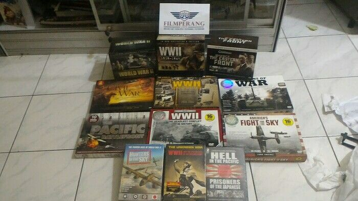 Dvd world war 2 completed
