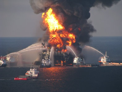 The explosion on the Deepwater Horizon drilling rig in the Gulf of Mexico that was connected to a well owned by BP killed 11 workers and spilled millions of barrels of oil.