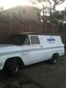 1960 chevy apache panel truck