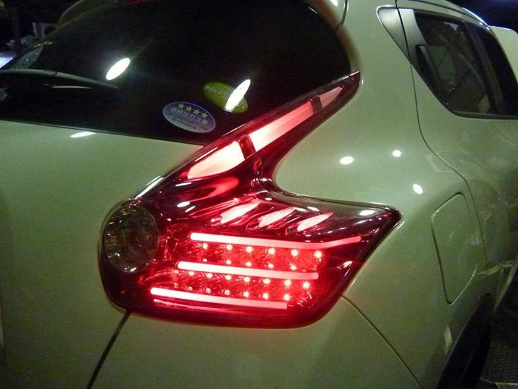 Nissan juke with mbro tail lights installed nissan juke for Nissan juke licht