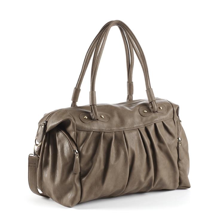 GANLY mocha - changing bag  Arrives in shops mid-September