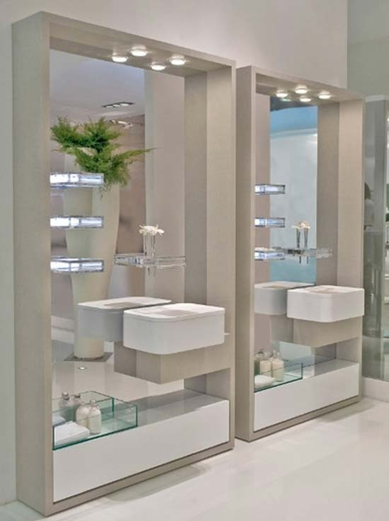 Quirky Bathroom Mirrors 14 best bathroom mirrors images on pinterest