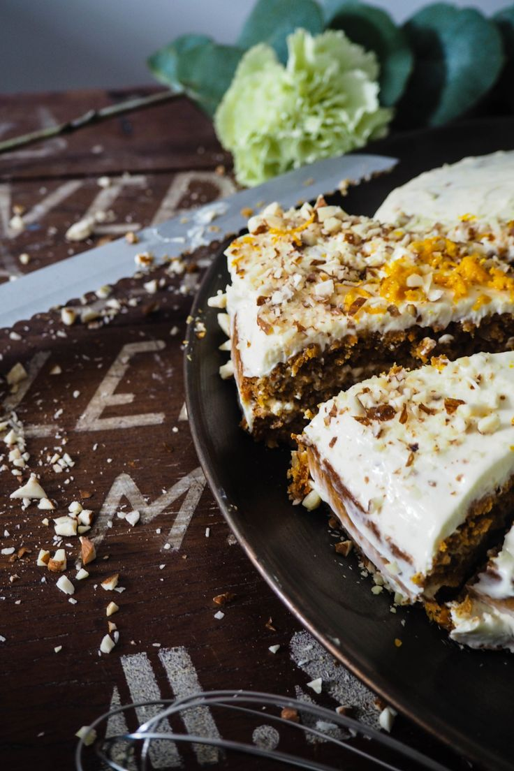 Easy carrot cake from my blog A small Adventure