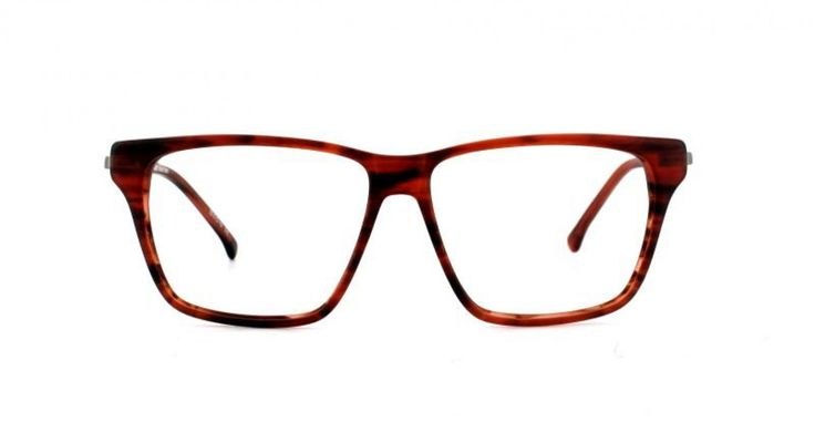 WEEKEND I A relaxed look perfect for the weekend. Almost unisex but not quite. Thin metal temples add a twist to a classic look. Tobacco demi is a mottled mid brown with reddish tones.