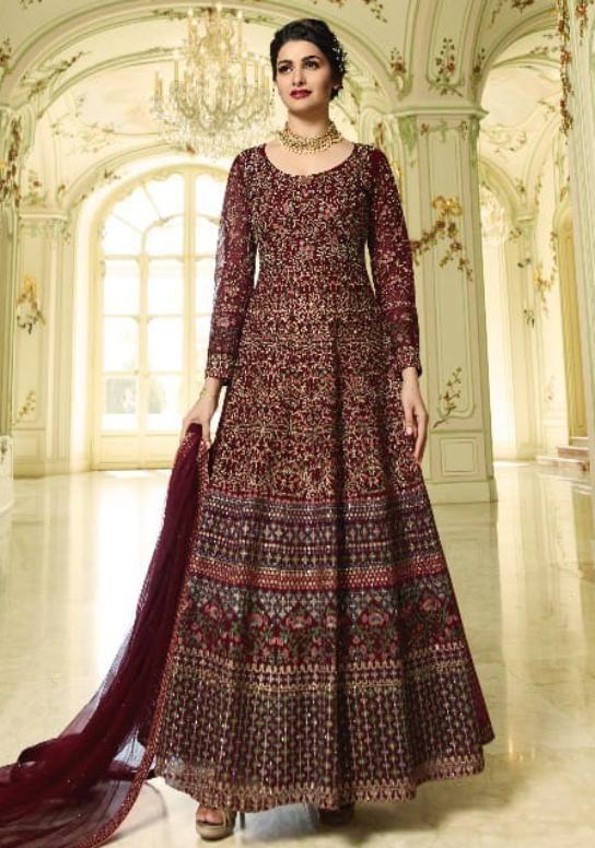 4466424c38 Vinay Fashion Designer Gorgeous Anarkali Suit in 2019 | PassIon for ...