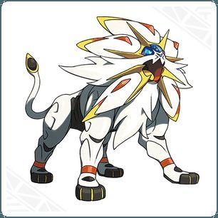 Solgaleo. Pokémon legendarios de movimiento característico es Meteoimpacto, habilidad Guardia Metálica,Es de tipo Psíquico/Acero y su categoría e Corona Solar.