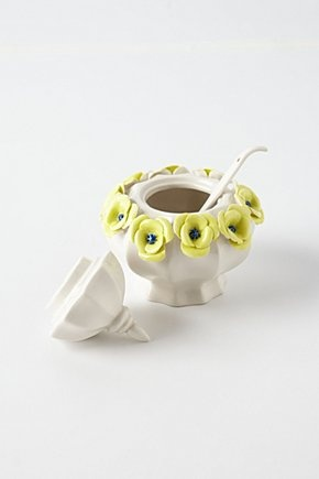 Crown Rose Sugar Bowl | Anthropologie.eu