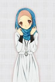 hoodie hijab and necklace..