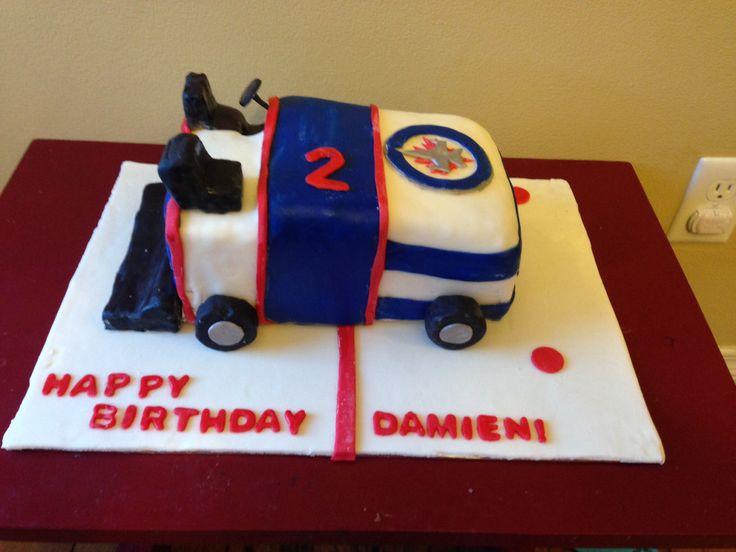 Happy Birthday Winnipeg Jets Cake