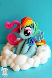 how to make my little pony cake from sugarpaste - Google pretraga