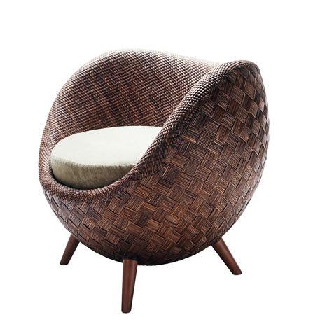 Kenneth Cobonpue LA LUNA Lounge Chair Designed By Kenneth Cobonpue