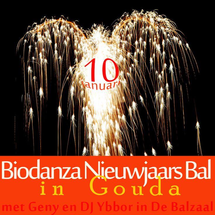 Biodanza neiuwjaars bal met Geny en DJ Ybbor  in De Balzaal in Gouda