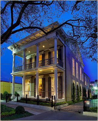 1912 St. Charles Ave. in the Lower Garden District. New Orleans, LA