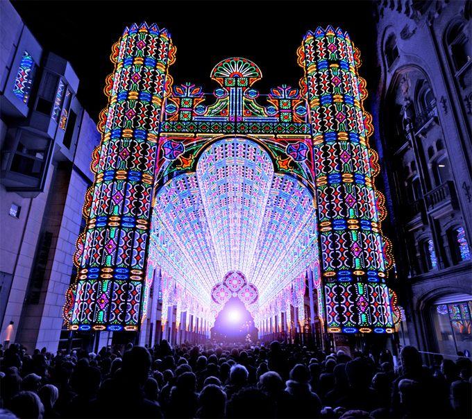 2012 Light Festival - Ghent, Belgium