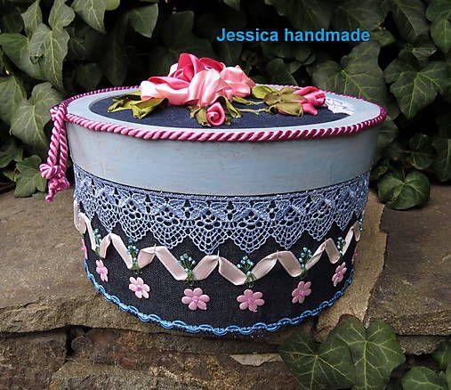 Jessicahandmade / Klob�kov� krabica
