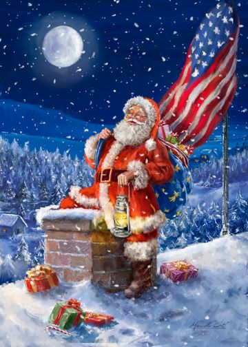 183 best patriotic christmas images on Pinterest | American flag ...