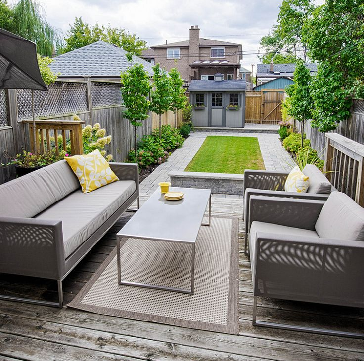 Transitional Deck Design in Toronto, Canada