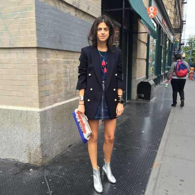 Céline jacket, Everlane t-shirt, Topshop skirt, Camilla Elphick boots, Sarah's Bag clutch