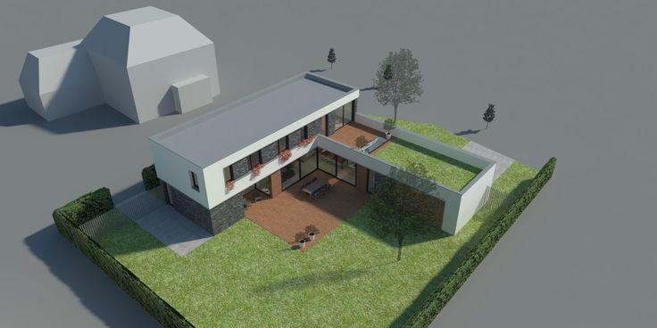 Nieuwbouwvilla in Hardenberg. Ontworpen door USE architects