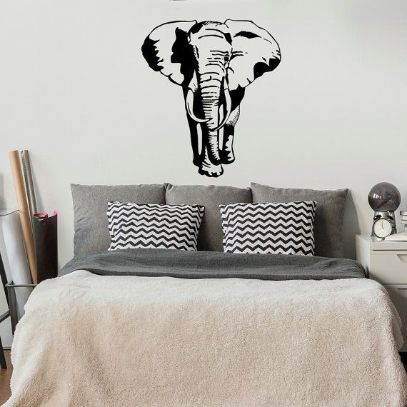 Elefante Sticker Decal Stickers-africano animali di FabWallDecals