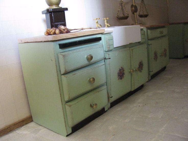 1/12 Scale Dolls House U0027oldu0027 Kitchen Units | EBay · KüchenHausmöbel WaageKüchenmöbelPuppenEbayPuppenhäuser