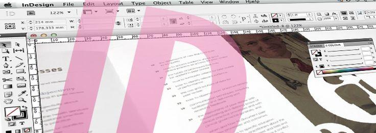 Kursus i Adobe InDesign   indesign course